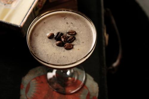 Our very own namesake cocktail, Café de Abejas.