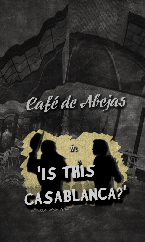 Background for iPhones with iOS7, 480x800p. ©Café de Abejas 2014